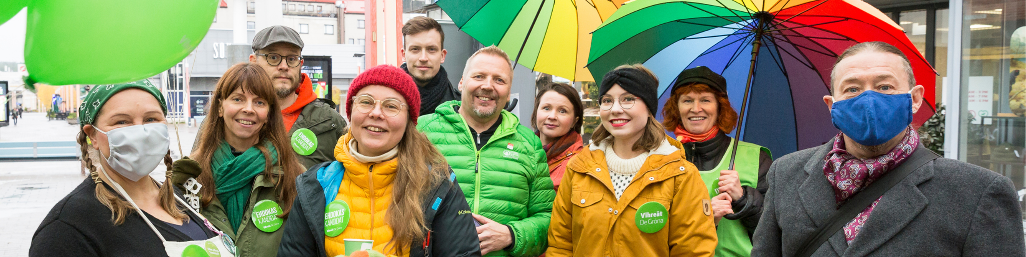 Kuntavaalikampanjan avaus 26.9.20 Rovaniemi